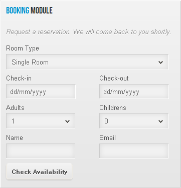 SP Quick Booking - joomla модуль бронирования