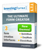 BreezingForms 1.7.1 Stable (build 728) Trinity