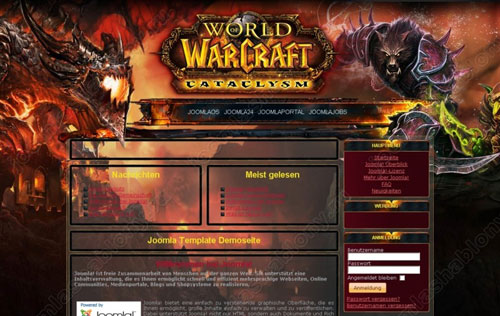 FJ WoW Cataclysm | wow шаблоны