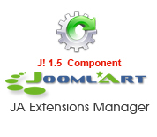 JA Extensions Manager 1.0