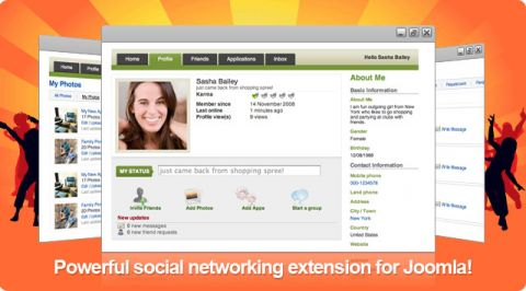 JomSocial 1.5.237 Final Full Pack