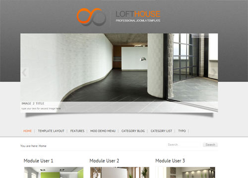 JoomlaPlates Lofthouse for J1.5 & J2.5
