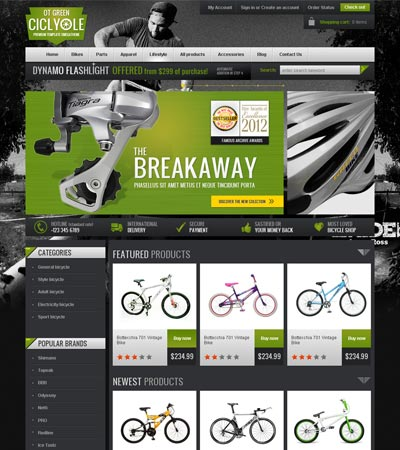 OT BicycleGreen
