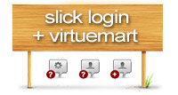 Slick Login plus Virtuemart