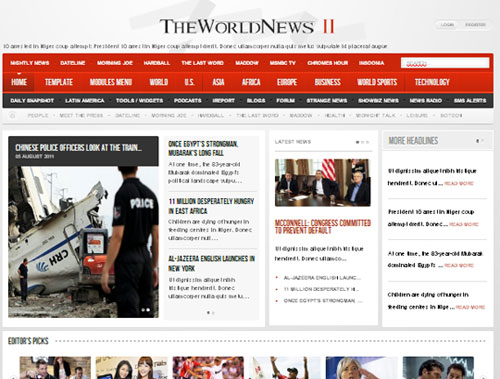 The World News II
