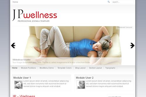 JP Wellness - Joomla 1.5-2.5